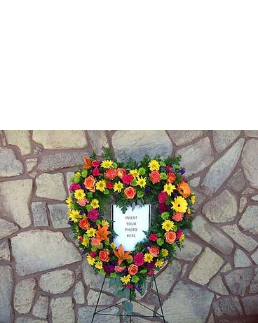 Custom Heart Wreath