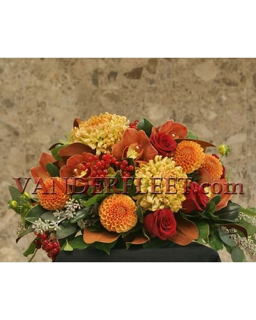 Autumnal Floral Centerpiece Design