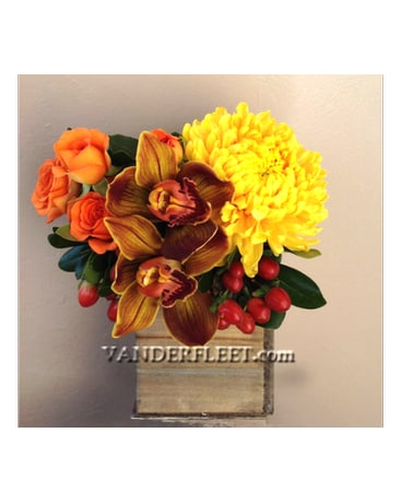 Indian Summer Floral Design