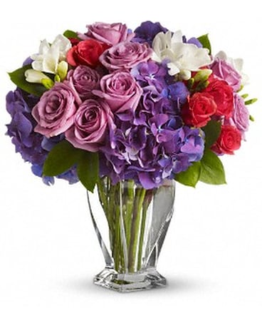 Rhapsody in Purple Floral Design