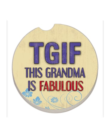 This Grandma Is Fabulous Coaster