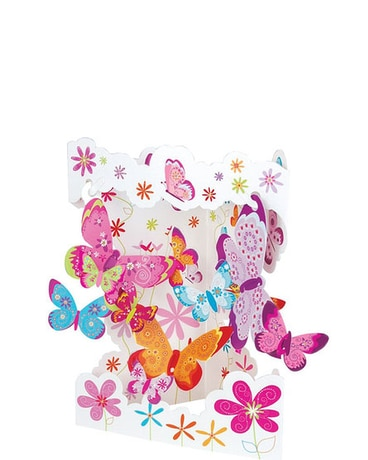Butterflies Swing Card