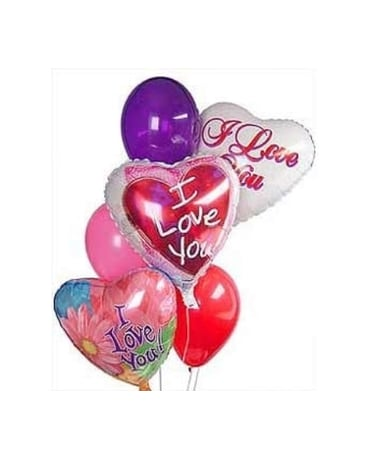 Quick View Love You Balloons Same Day OK
