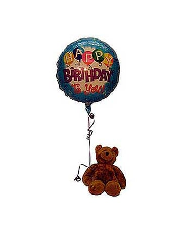 Quick View Happy Birthday Bear Balloon