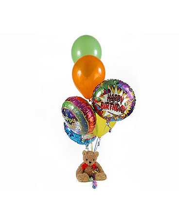 Quick View Bear Balloon Bouquet Choose The Occasion
