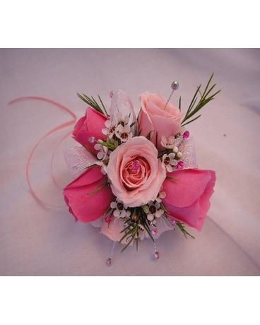 Light Pink Corsage Dresses