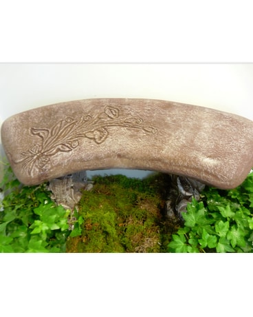 BENCH WITH DESIGN
