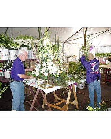 Tim Farrell AIFD AAF PFCI Creating Florals For The 78th Academy Awards