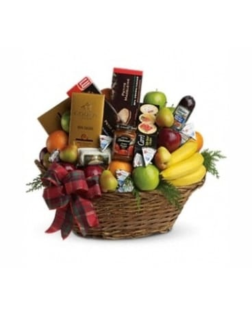 Holiday Elegance Gourmet Basket