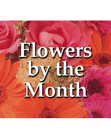 Flowers By the Month<br>12 Months