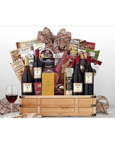 Wine and Gourmet Basket