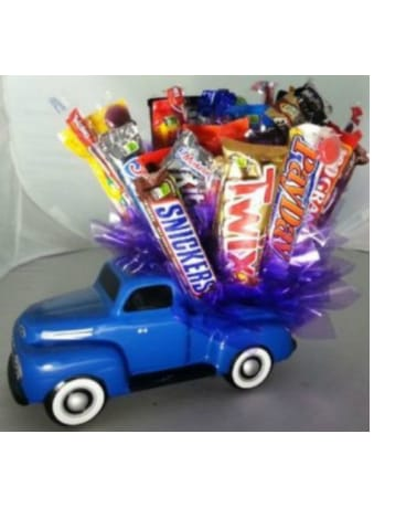 Truckload of Candy Bouquet