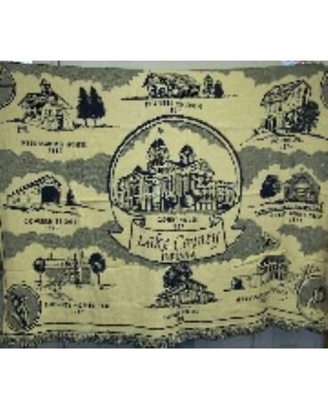 Lake County Memories Afghan In Crown Point In Debbie S Designs