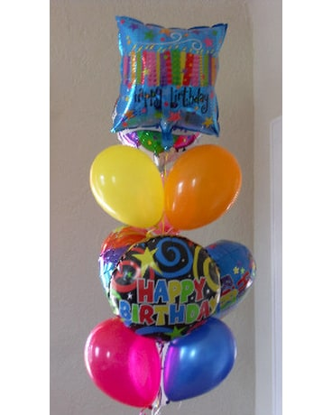 Quick View Happy Birthday Balloon Bouquet