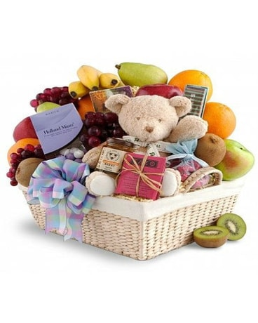 New Baby Fruit Basket