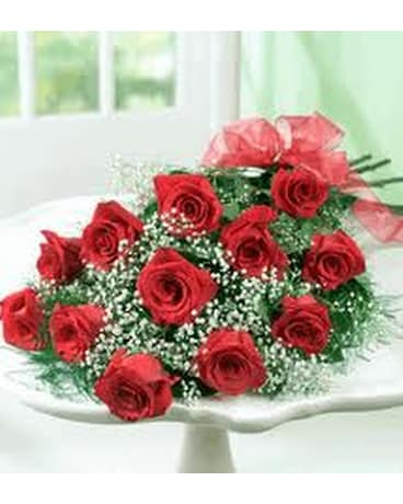GIFT WRAPPED DOZEN ROSES
