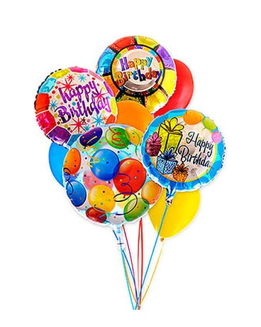 Birthday Assorted Balloon Bouquet