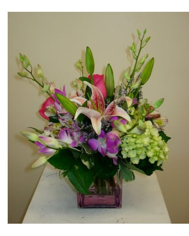 Naples florist flower delivery by genes 5th ave florist lush lavender mightylinksfo