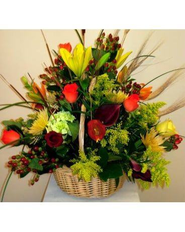 Plantation Fall Basket