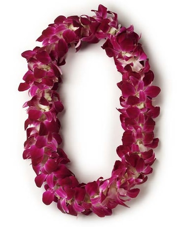 Double Stranded Orchid Lei