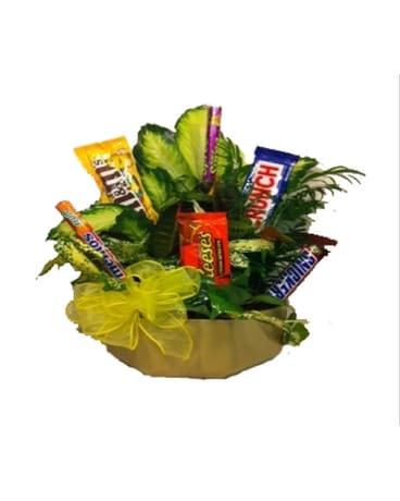 Candy Planter Bouquet