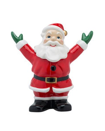 Holiday Splendor Santa Cookie Jar