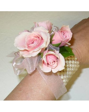 BETTER WITH PEARLS CORSAGE
