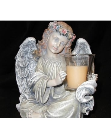 Angel Votive Holder