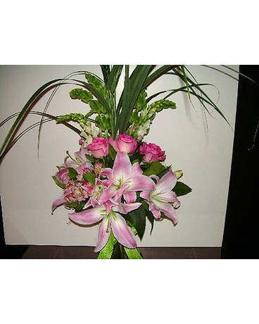 Country Vase Pink