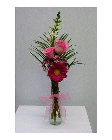 Pink Bud Vase In Albertville Al The Flower Market