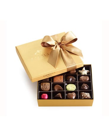 Godiva® Gold Ballotin Assorted Chocolates 19pc
