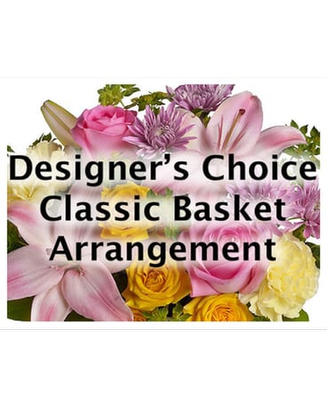 Classic Basket Arrangement