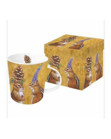 Gift Box Mug - Chipmunk Court Ship