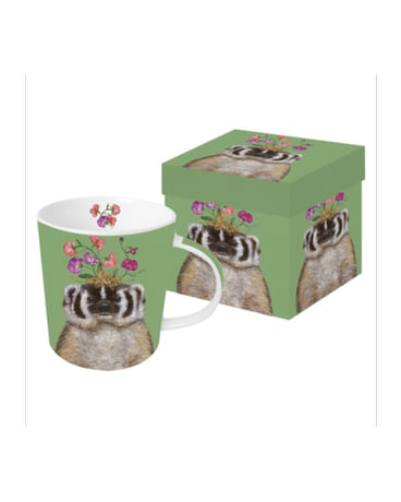 Gift Box Mug - Sweet Pea