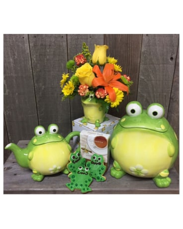 Frog Birthday Just PARTY