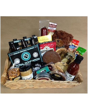Quick view Gourmet Basket with Total Domination Beer