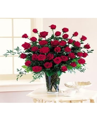 Three Dozen Roses -Large and Showy!