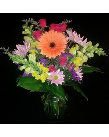 Assorted Vase Arrangement by Bool's Flower Shop