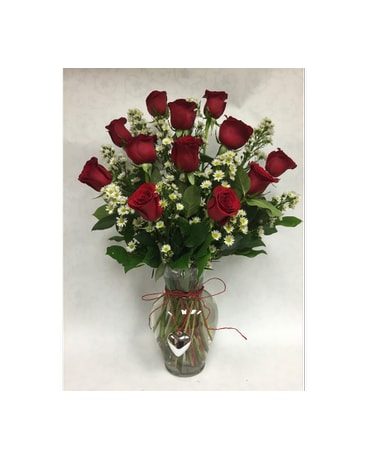 roses with charm