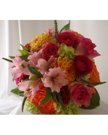 Color Display Bouquet In Saratoga Springs Ny Dehns Flowers