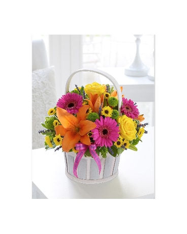 Mother's Day Mixed Basket Arrangement