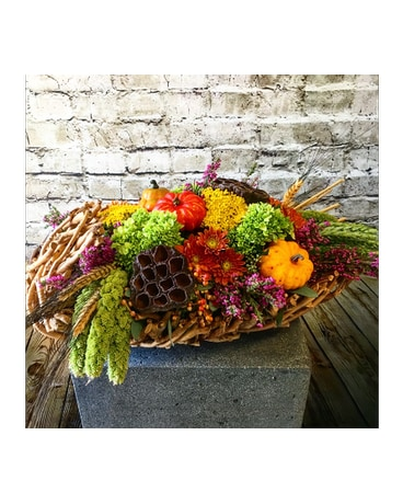 Fall Pave Centerpiece