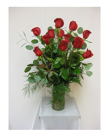 Always on My Mind - Dozen Long Stemmed Red Roses