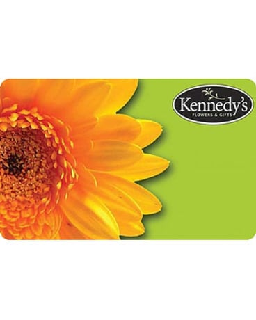 Kennedy's Gift Card
