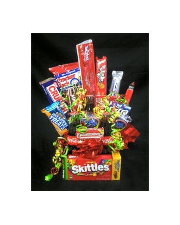 Candy & coke basket