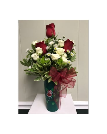 Sorority Gift · $29.95. Quick view Red & White Rose Tumbler