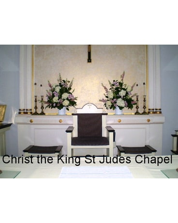 Altar at St Judes Chapel Christ the King Church