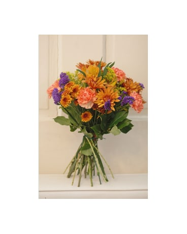 Euro Seasonal Hand Tied Bouquet