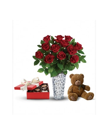Sweet And Plush Valentine S Day Gift Set 3 In St John S Nl