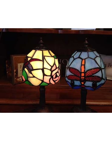 sympathy keepsake lamps in avon oh the hen n the ivy